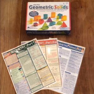 BRAND NEW Geometric Solids cards and set